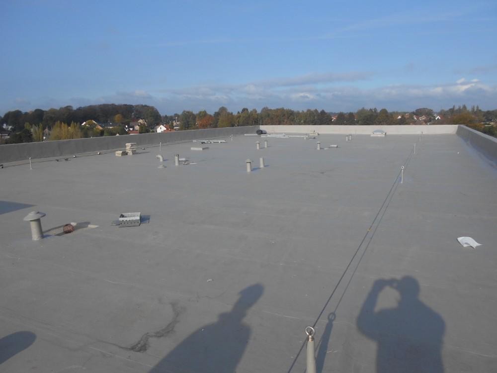 Platte daken, Clinique saint-Pierre, Ottignies – fase 1