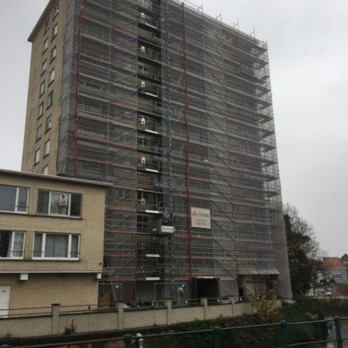 Balkon, Residentie Cromwell, Gent